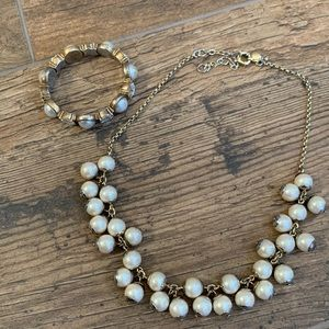 J Crew Necklace and bracelet set